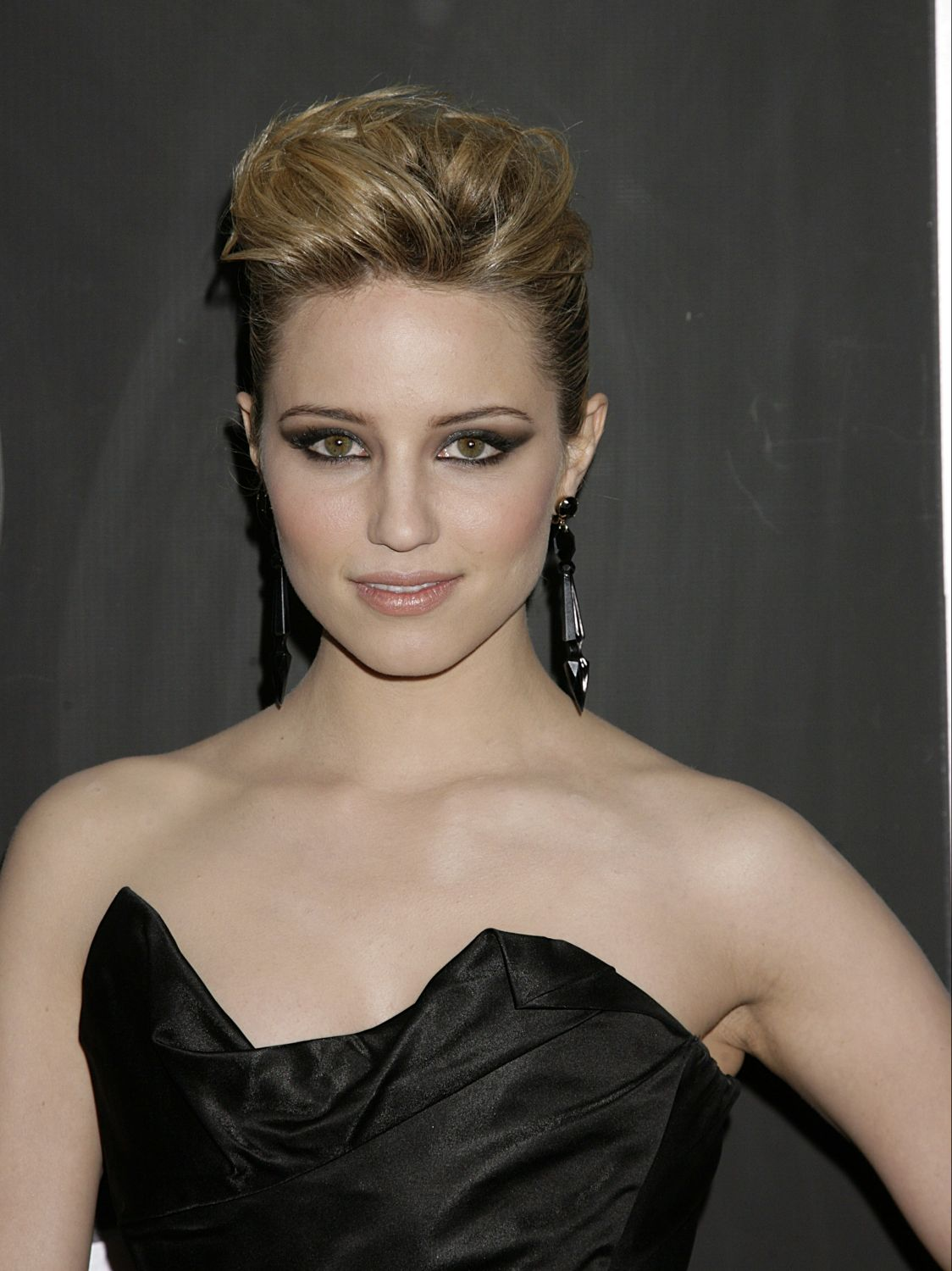 dianna agron at the grammys 2011